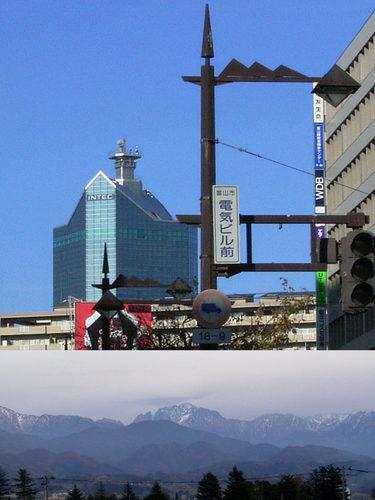 16 富山県民は稜線がお好き。