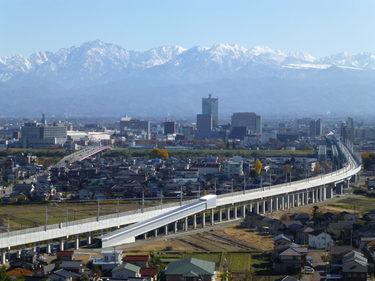 21 新幹線のカーブ