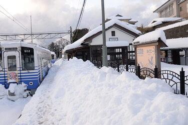 76 豪雪に埋まった列車